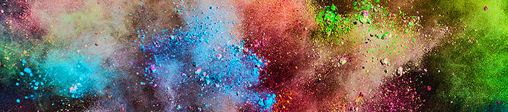 colorful-powder-splashing-air