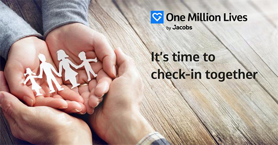 One Million Lives free mental health check-in tool at Jacobs
