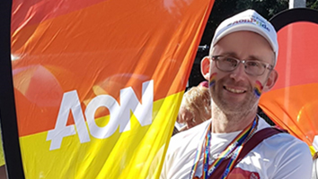 Aon Celebrating Pride without leaving your home