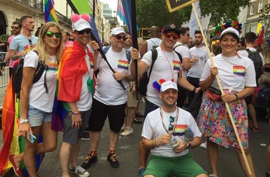 Aon Team Pride 2019
